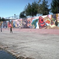 Great Wall of Los Angeles, found in the Tujunga Wash in North Hollywood I Courtesy of SPARC © Judy Baca