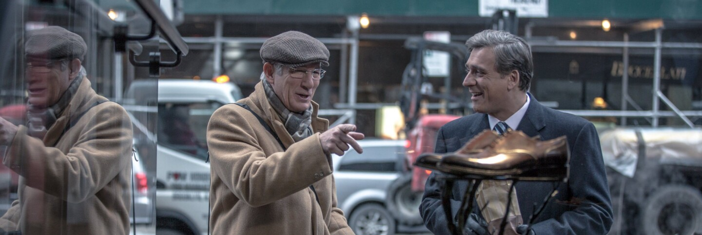 """""""Norman: The Moderate Rise and Tragic Fall of a New York Fixer"""" starring Richard Gere (primary)"""