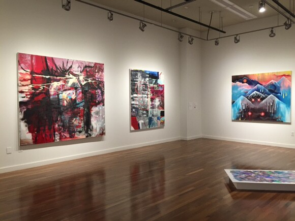 """""""Second Wave: Aesthetics of the 80s in Today's Contemporary Art,"""" installation view. 