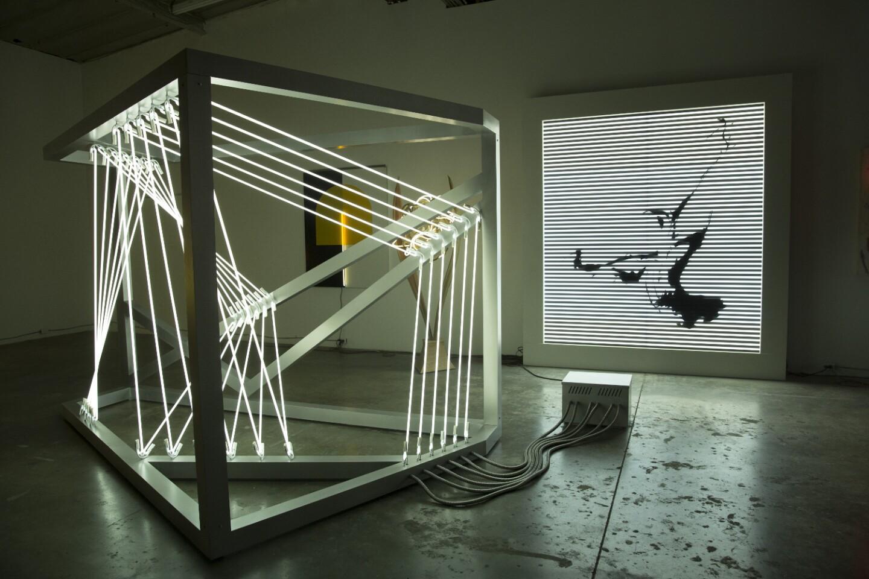 Lisa Schulte's neon art