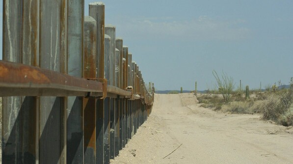 The border fence in 2005 | Chris Clarke photo