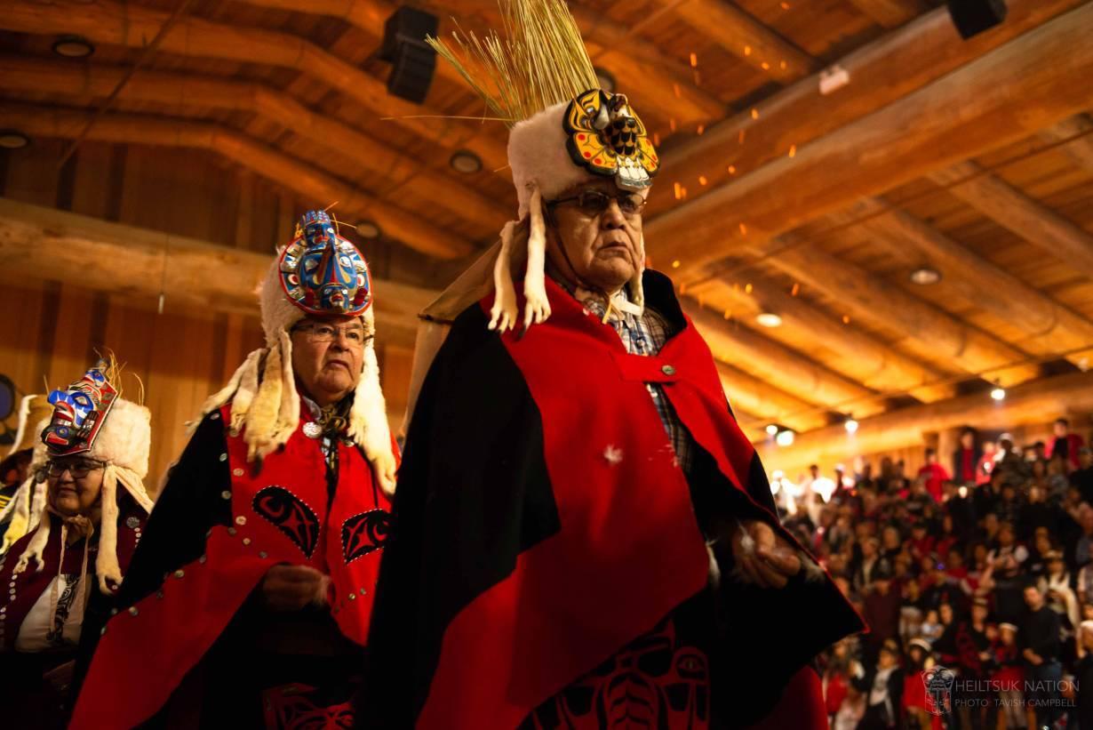 Cultural indigenous event in Heiltsuk, Canada. | Photo handout via Tavish Campbell