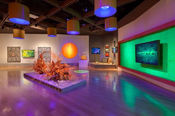 """Desert Abyss: Cycle in Cycle,"" 2013. Palm Springs Art Museum, Palm Springs, California. 