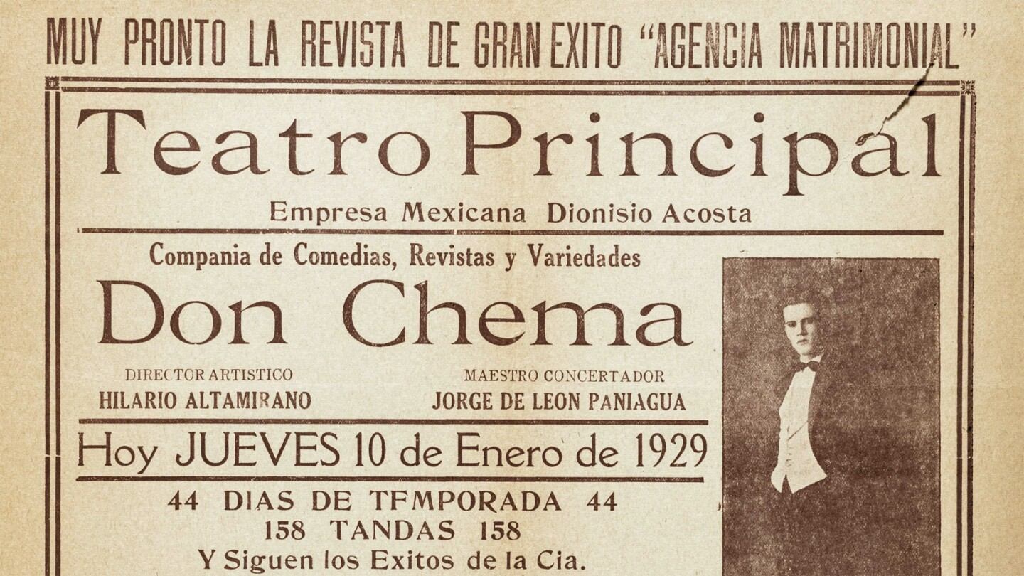 Broadside for Teatro Principal, Los Angeles, printed by Imprenta Jalisco, Boyle Heights, 1929 January 10. | University of Southern California Libraries, Workman and Temple Family Homestead Museum Collection, 1830-1930