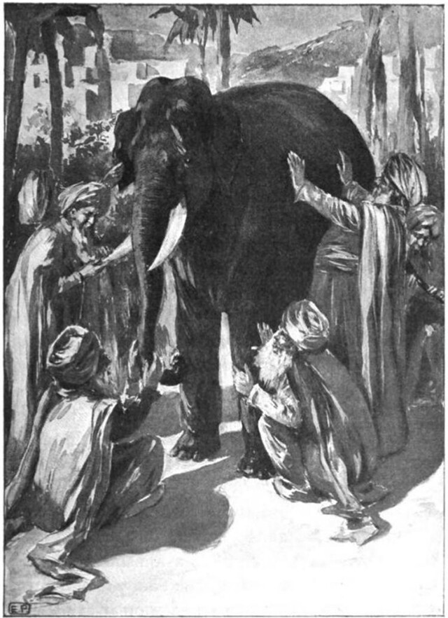 The parable of the blind men and the elephant.