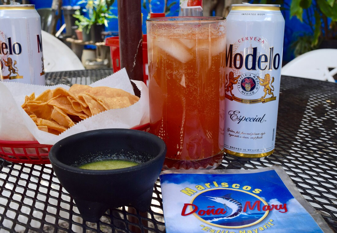 Off to a great start at Mariscos Doña Mary   Danny Jensen