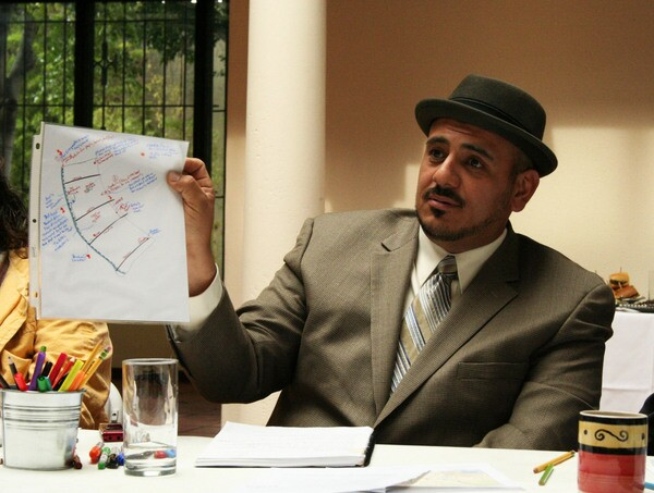 Atwater Village Neighborhood Council member Alex Ventura discusses his map