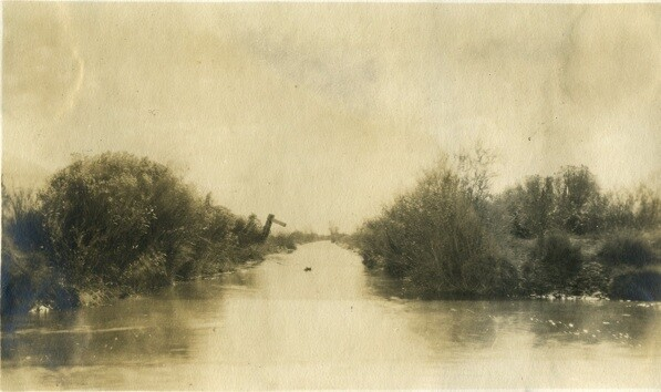 Stevens Ditch | Special Collections, Honnold/Mudd Library of The Claremont Colleges