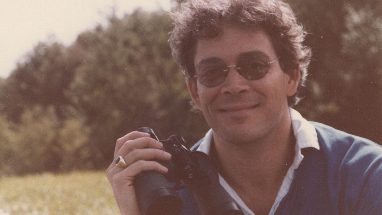 Raúl Juliá at his country home, 1982.
