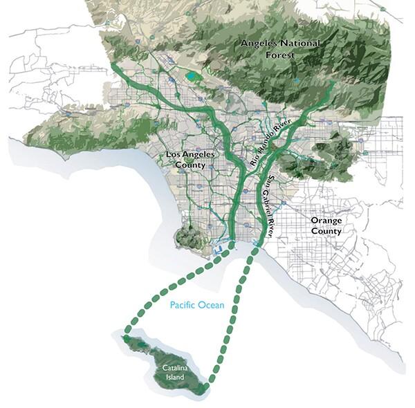 Emerald Necklace Forest to Ocean Expanded Vision Plan | Courtesy of Amigos de los Rios