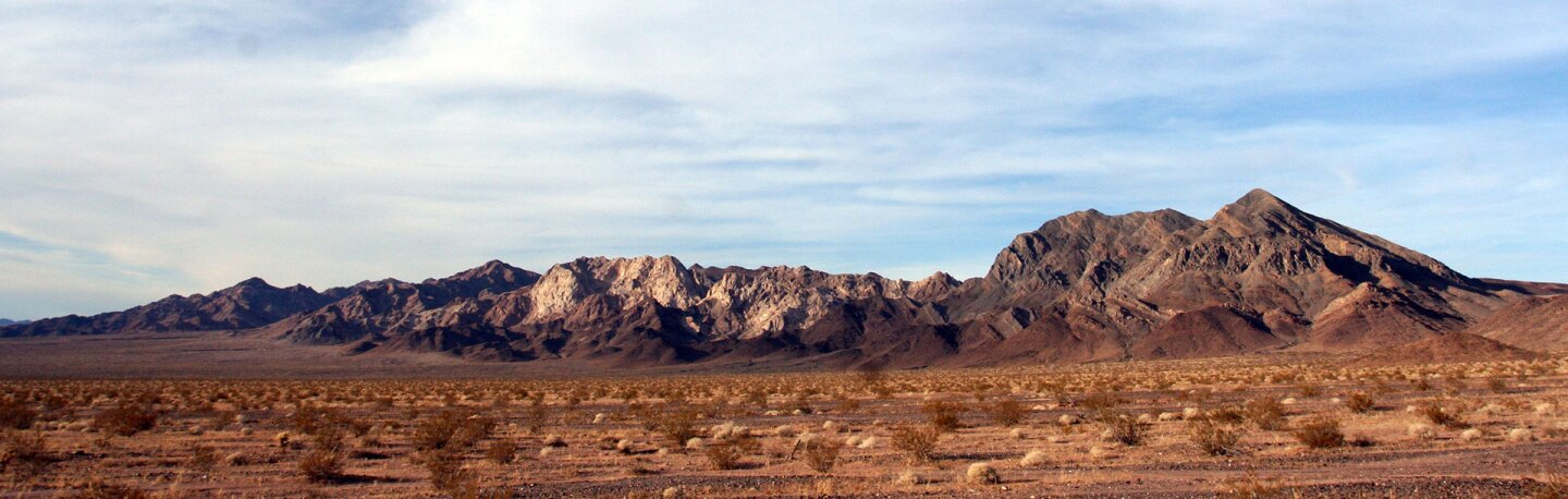 Marble Mountains in Mojave Trails National Monument