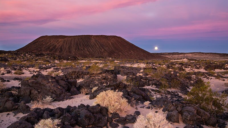 Amboy Crater in Mojave Trails National Monument