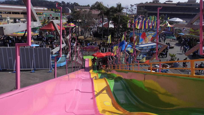 slides at the san diego county fair