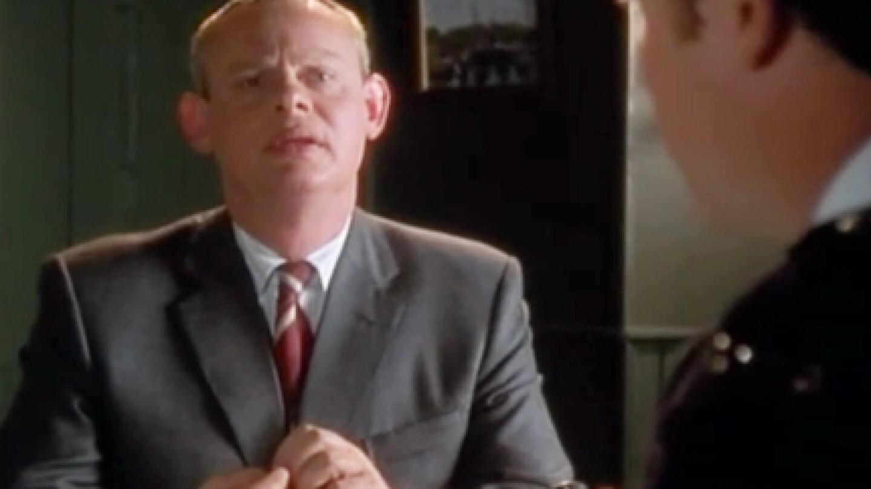 Martin Clunes as Doc Martin.
