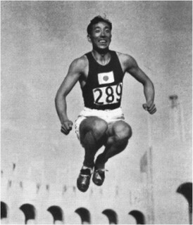 Chuhei Nambu, Gold Medalist in the Hop, Step, and Jump | From the Official Olympic Report, 1932