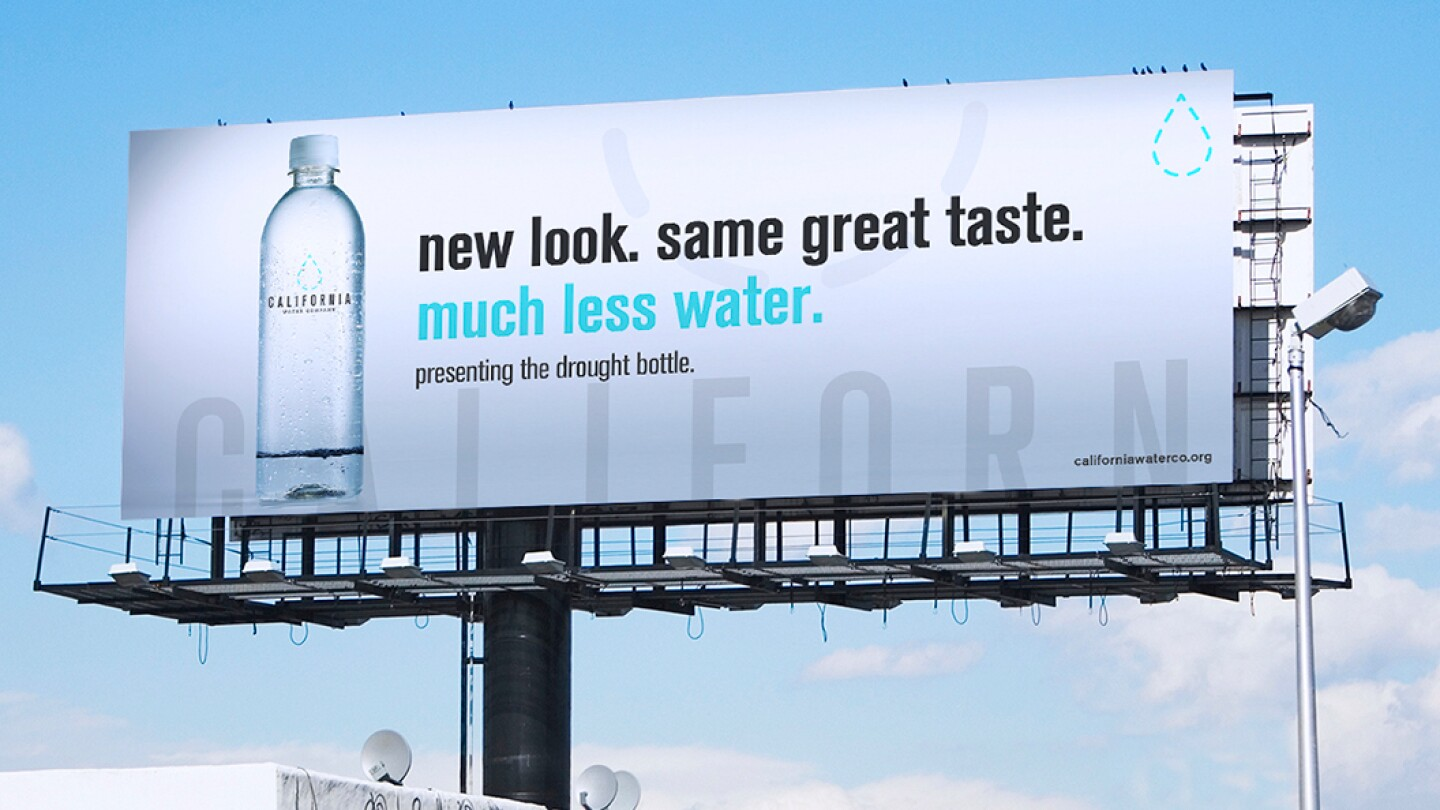 "Chris Onesto, ""California Drought Billboard,"" 2015 (featured)"
