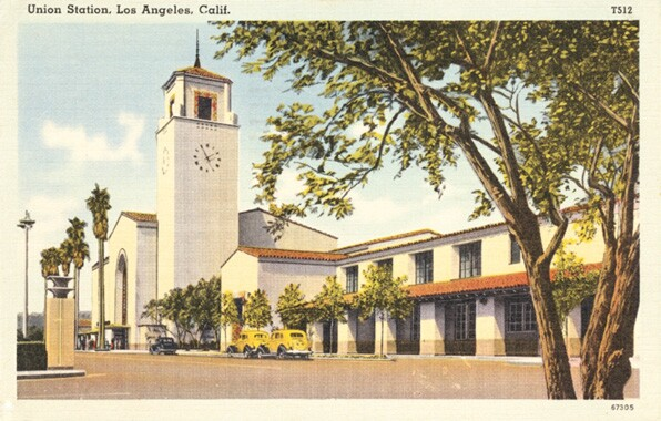Los Angeles Union Passenger Terminal. From the Metro Transportation Library and Archive / James Rojas Collection.