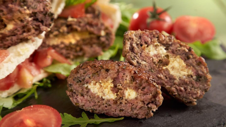 lamb biftekia burgers
