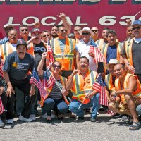 Teamster Rally - Long Beach