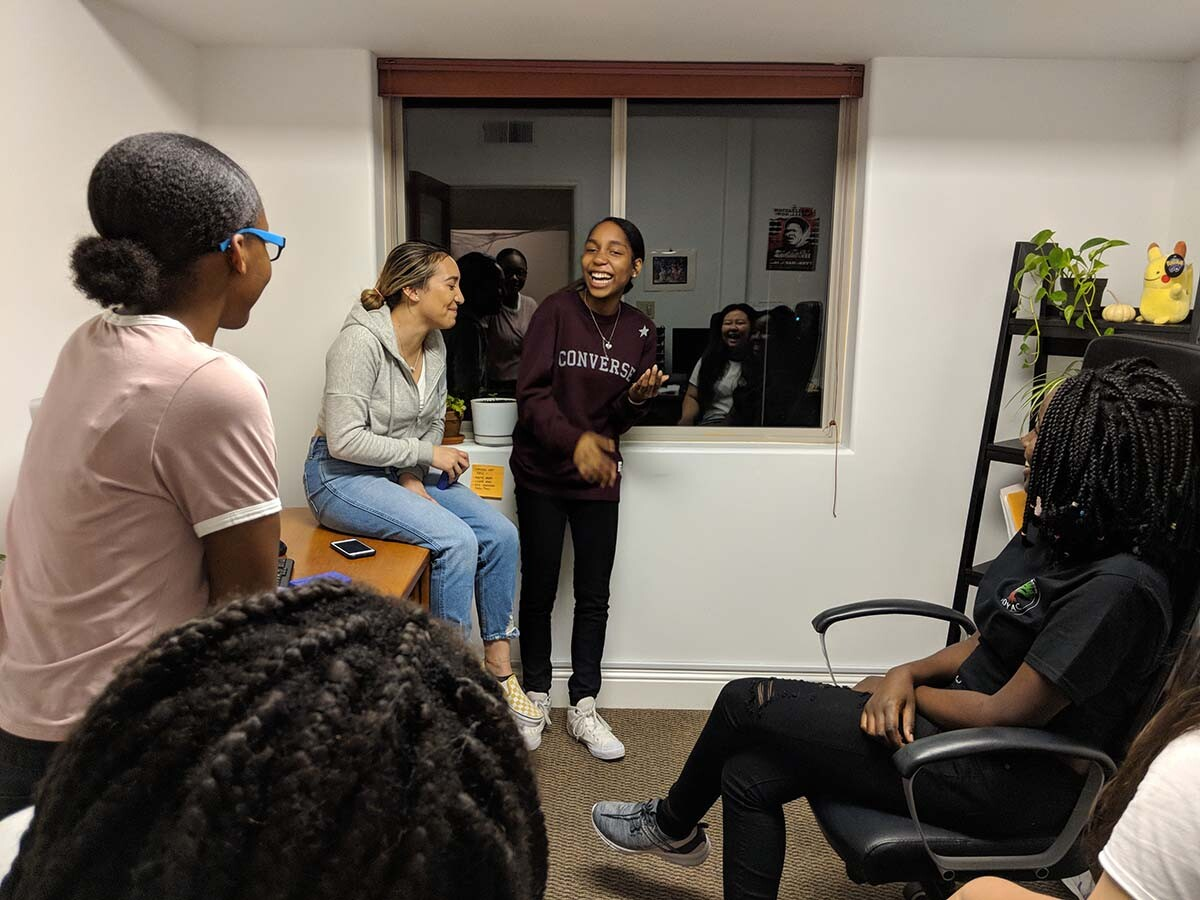 Californians for Justice youths are spending time with each other in community. | Californians for Justice