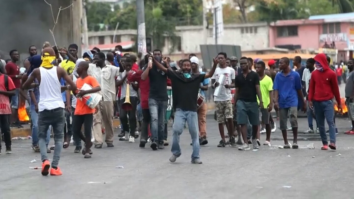 """Protests in Haiti 