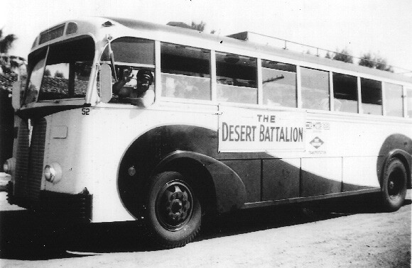 The Desert Battalion and other groups like it bussed in young women to serve as dance partners and conversationalists for the soldiers stationed at the DTC. | Courtesy of the General Patton Memorial Museum.