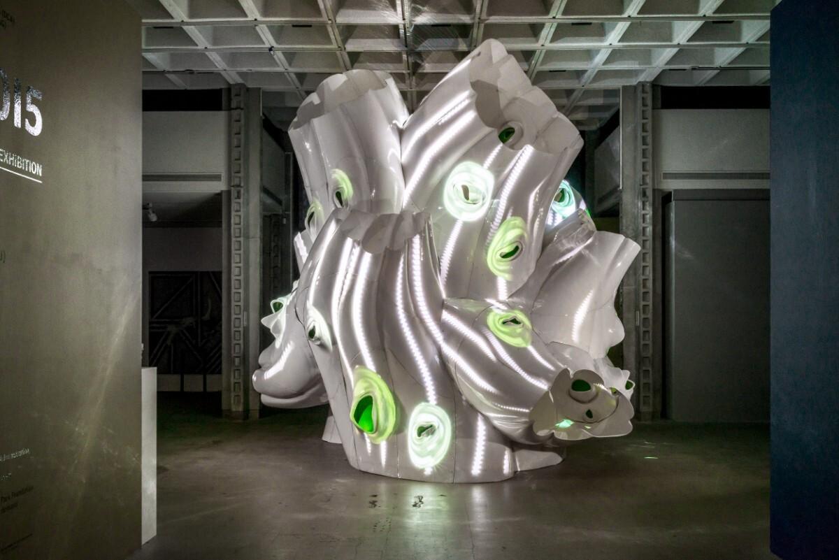 Baumgartner and Uriu's COLA exhibit | Courtesy of BplusU