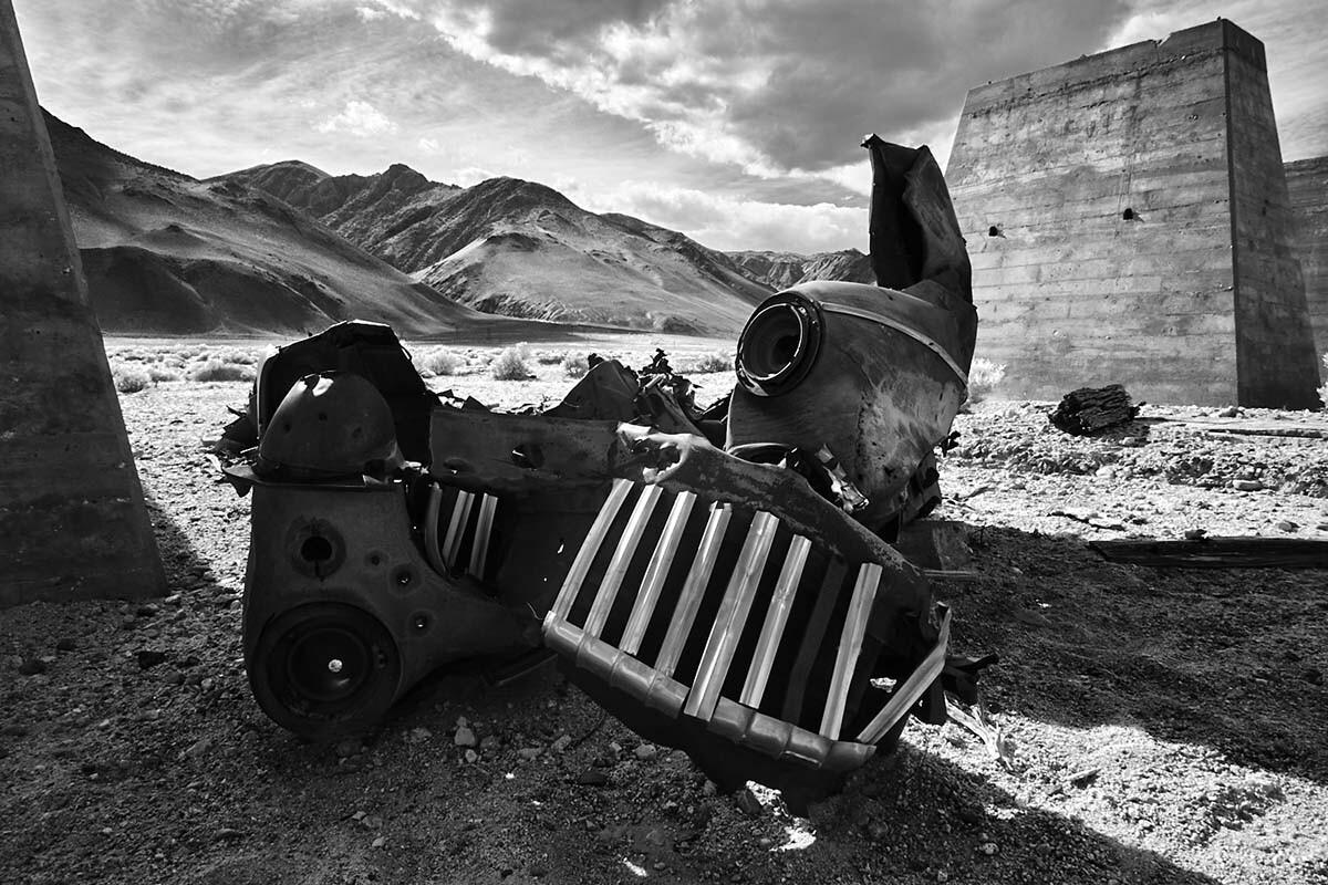 Resting Place - Abandoned Kaiser Plant - Owens Lake, CA - 2016 | Osceola Refetoff