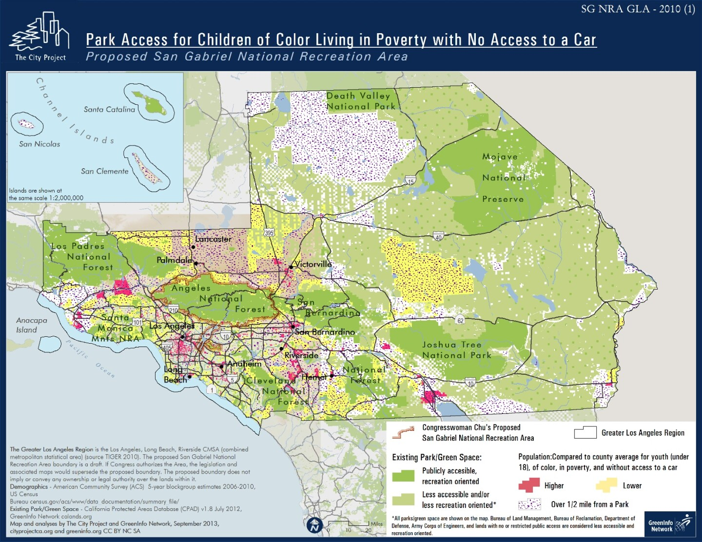 Park access for children of color living in poverty with no access to a car   The City Project