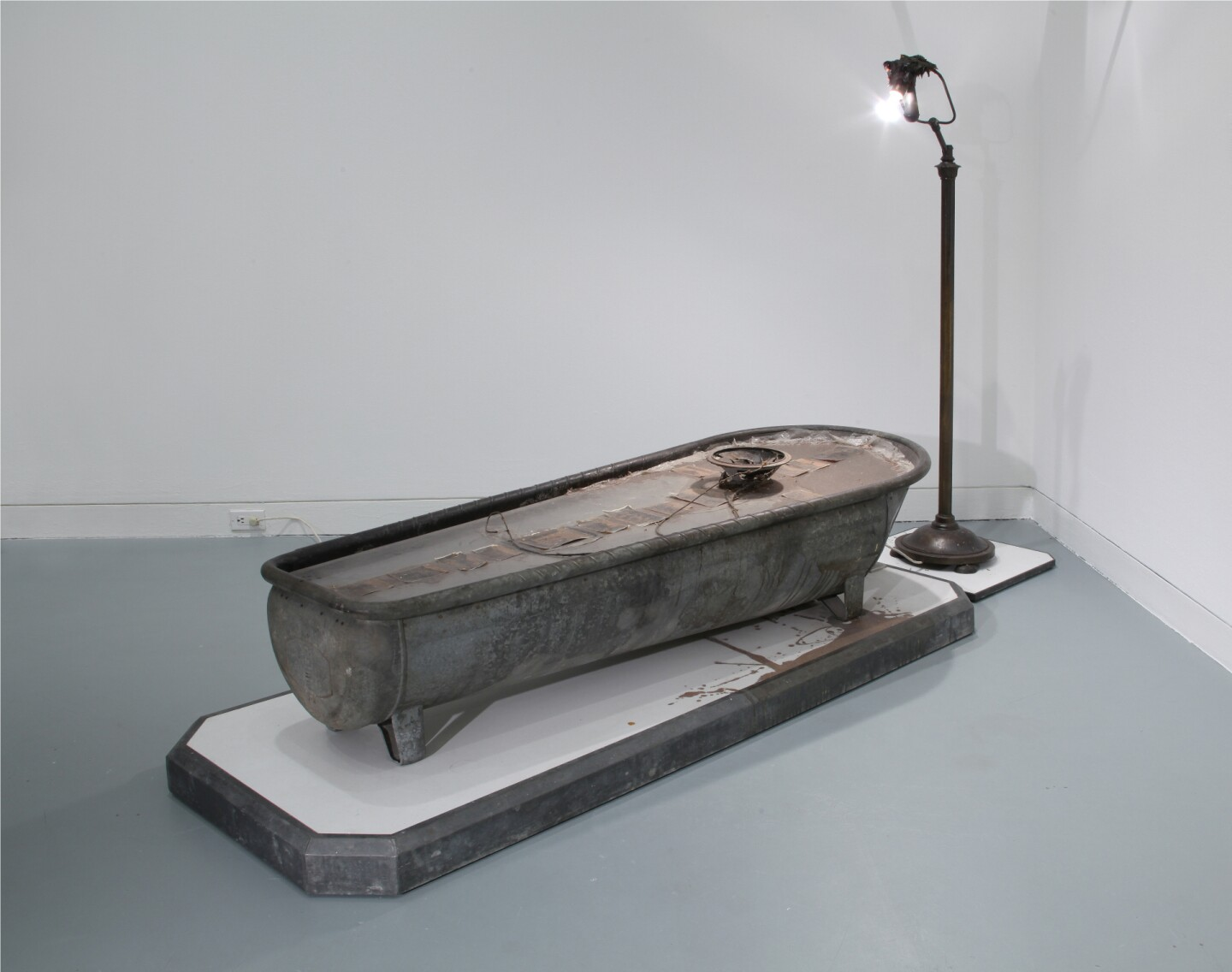 "From the OCMA collections: Ed Kienholz and Nancy Reddin Kienholz, ""End of the Bucket of Tar and Speaker Trail No. 2"""