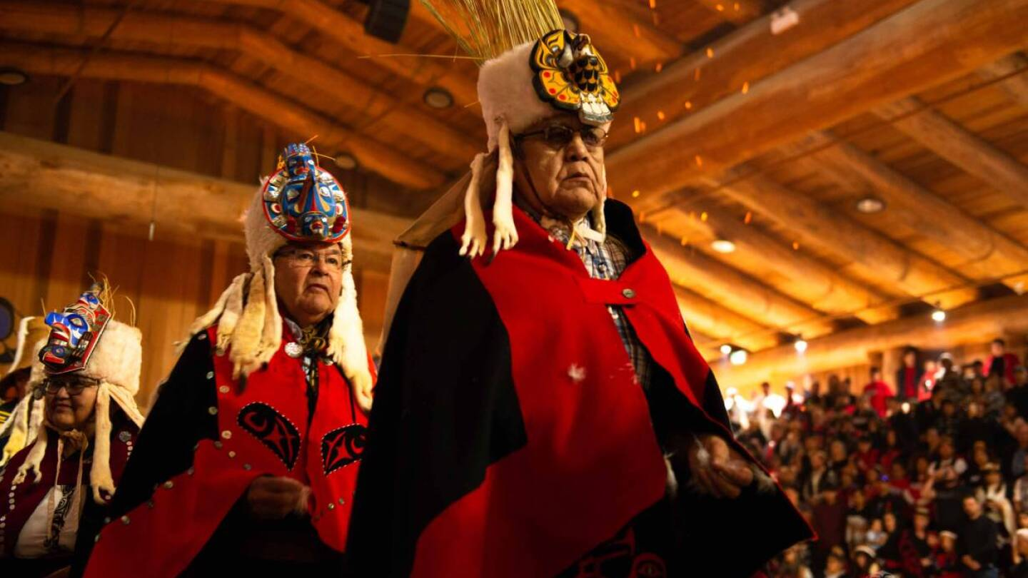 Cultural indigenous event in Heiltsuk, Canada. | Photo handout via Tavish Campbell