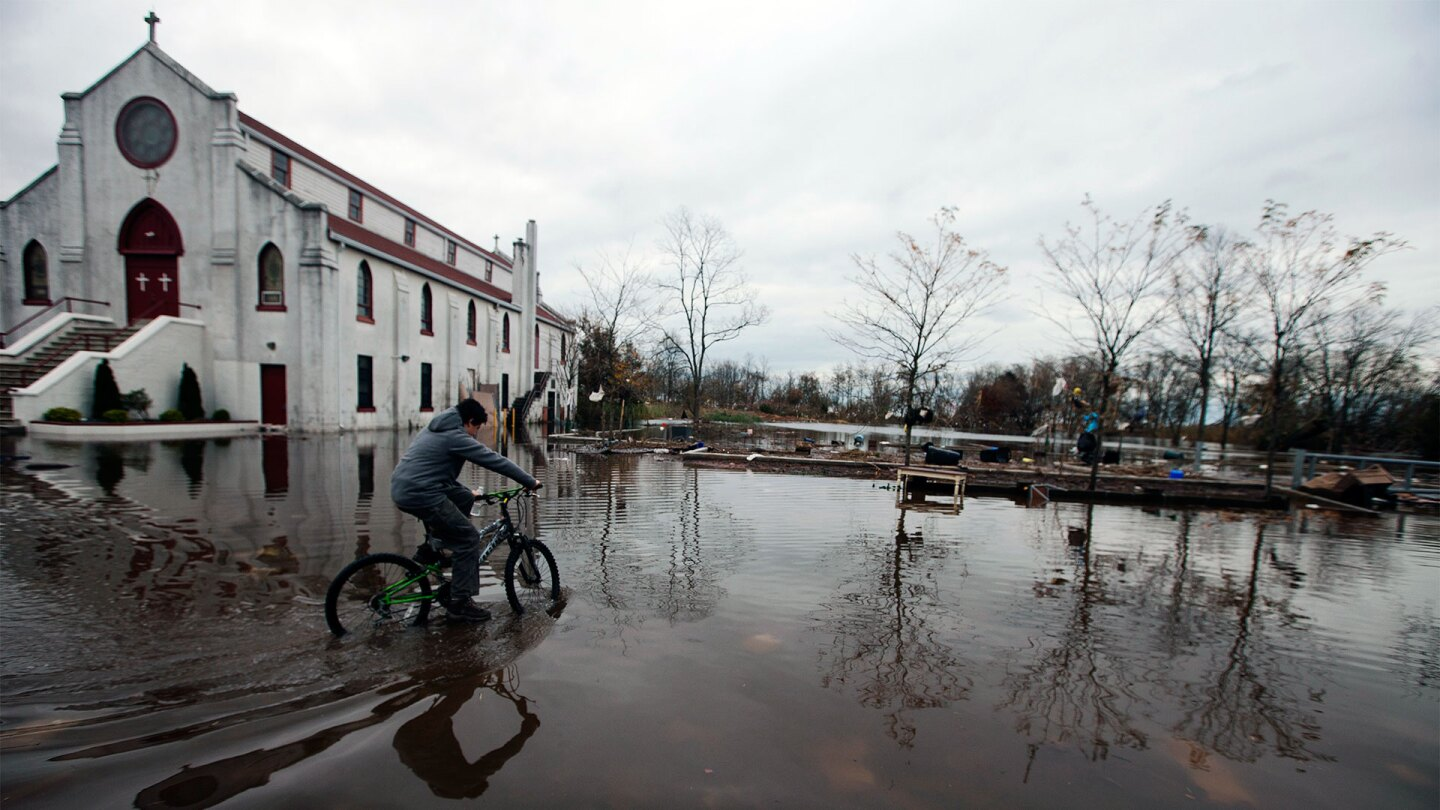 Trust Docs: Biking Through Flood