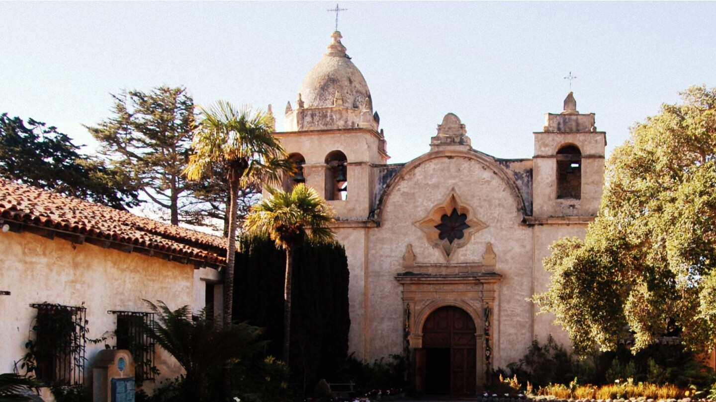 The Carmel Mission.