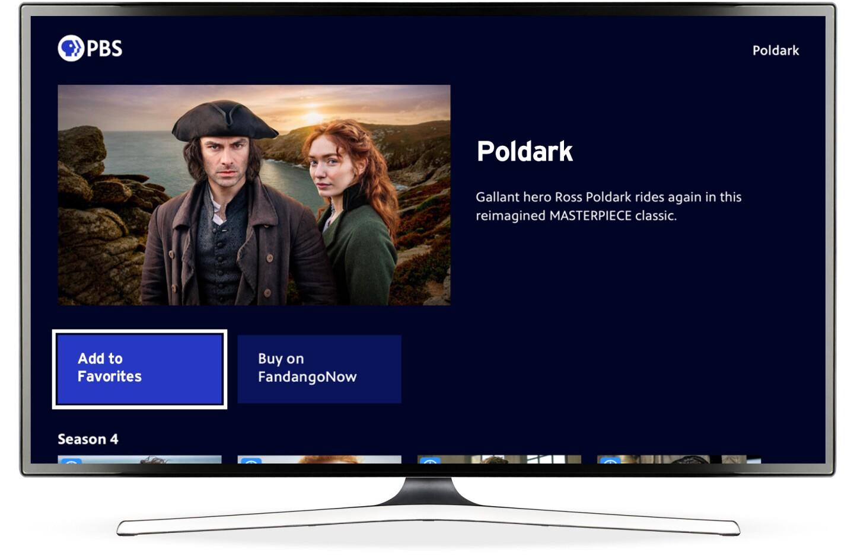 PBS Roku App Featuring Poldark