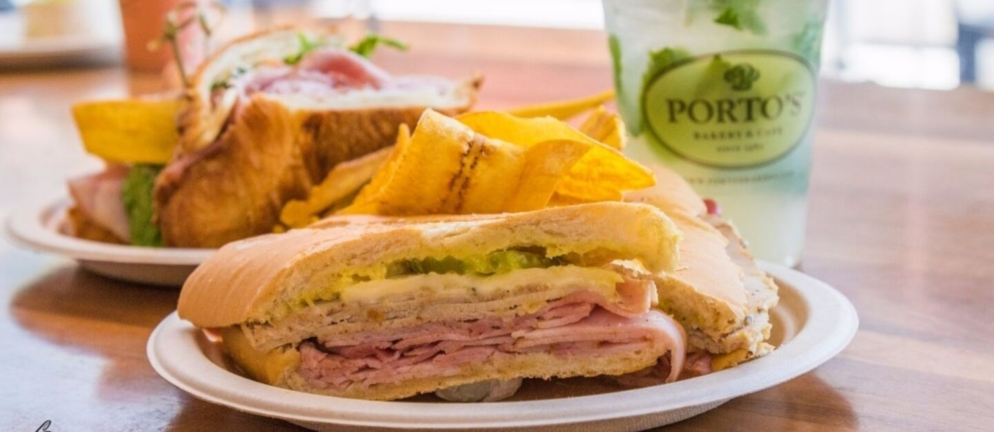 Cuban sandwich | Alexander Garcia, Courtesy of Porto's