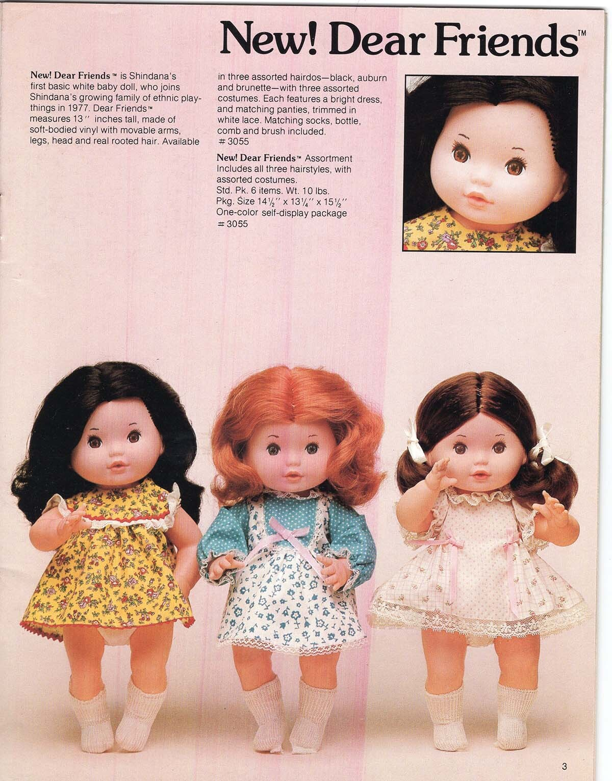 Dear Friends collection from Shindana Toys    Courtesy of Billie Green