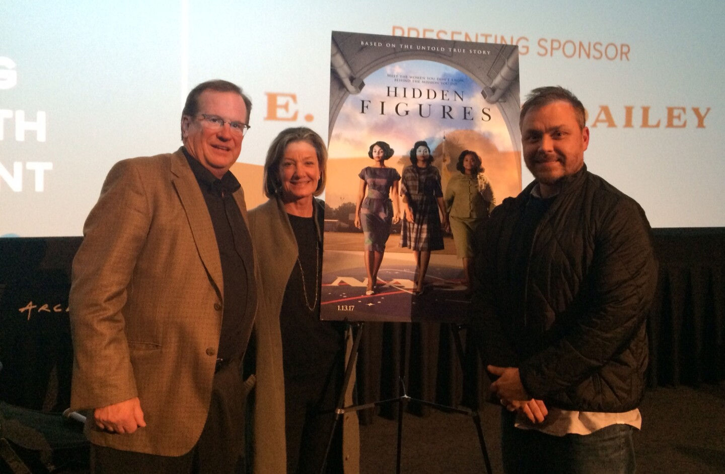 """Hidden Figures"" movie screening at the KCET Cinema Series"