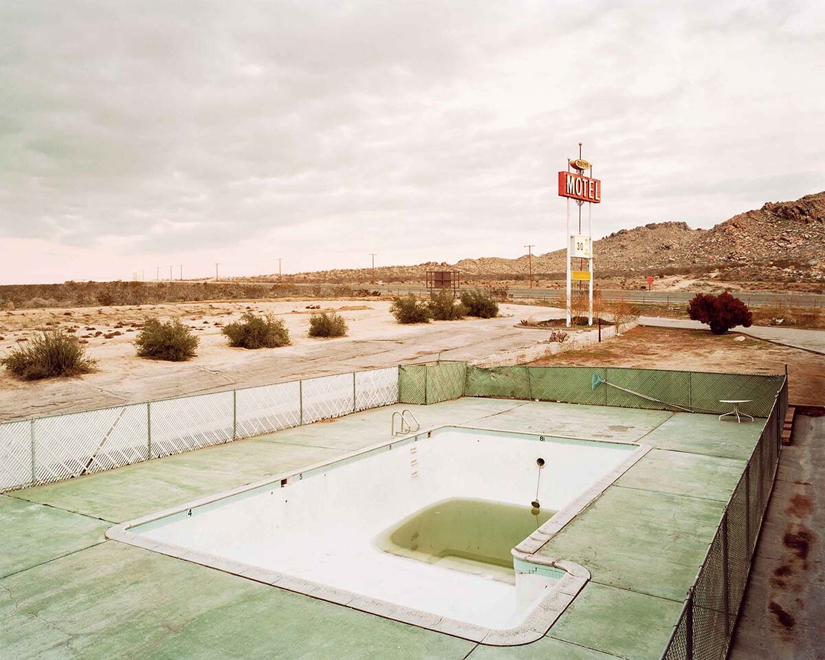 """J. Bennett Fitts, """"Victorville (from No Lifeguard on Duty series)"""" 