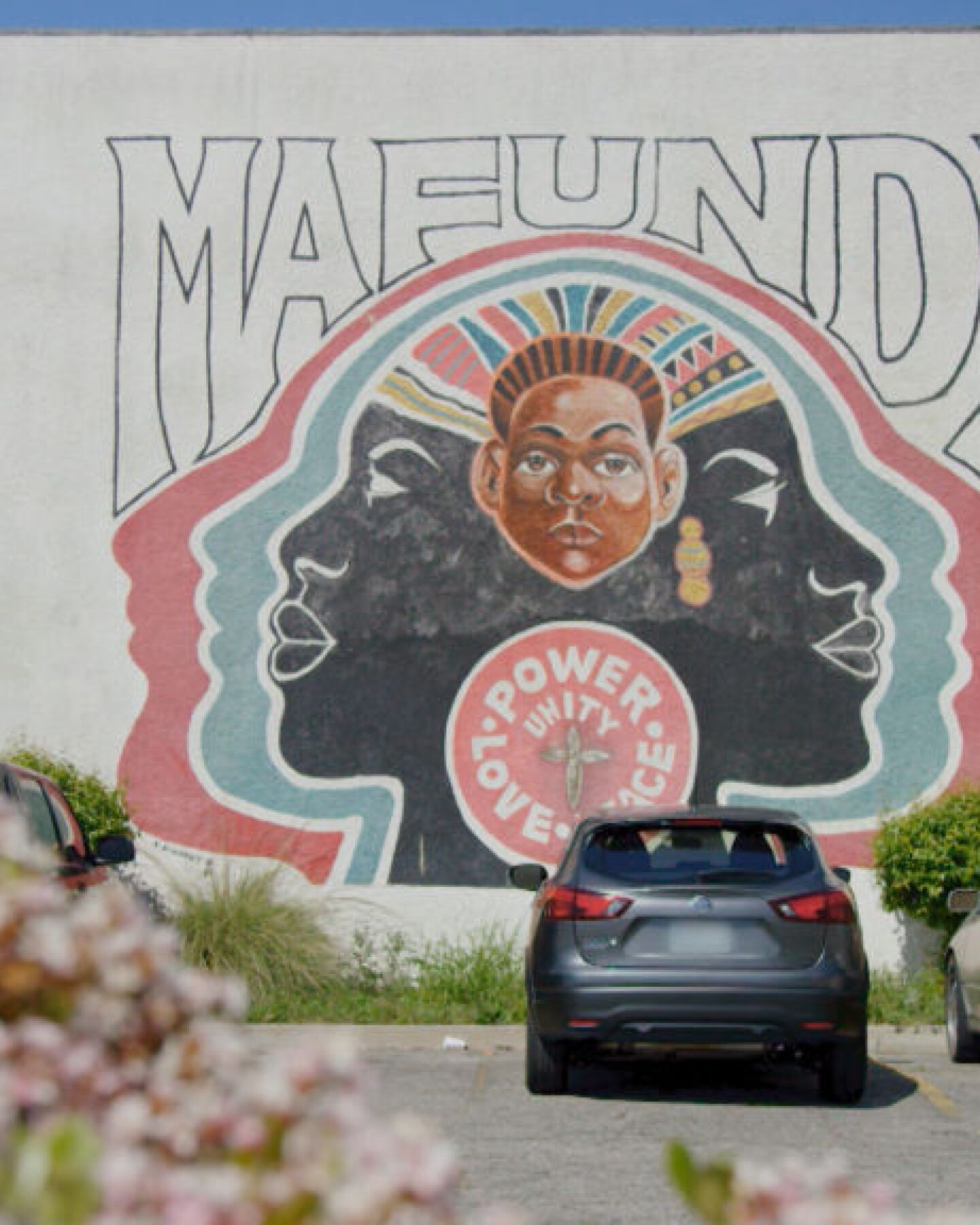 "Mural at Mafundi Institute | Still from ""Broken Bread"" Watts"