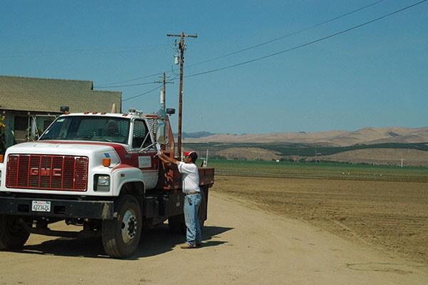 California Central Coast Farm. Photo courtesy of Flickr user Tercat