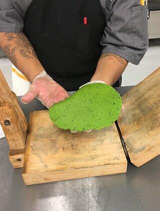 Corn Kale Tortilla