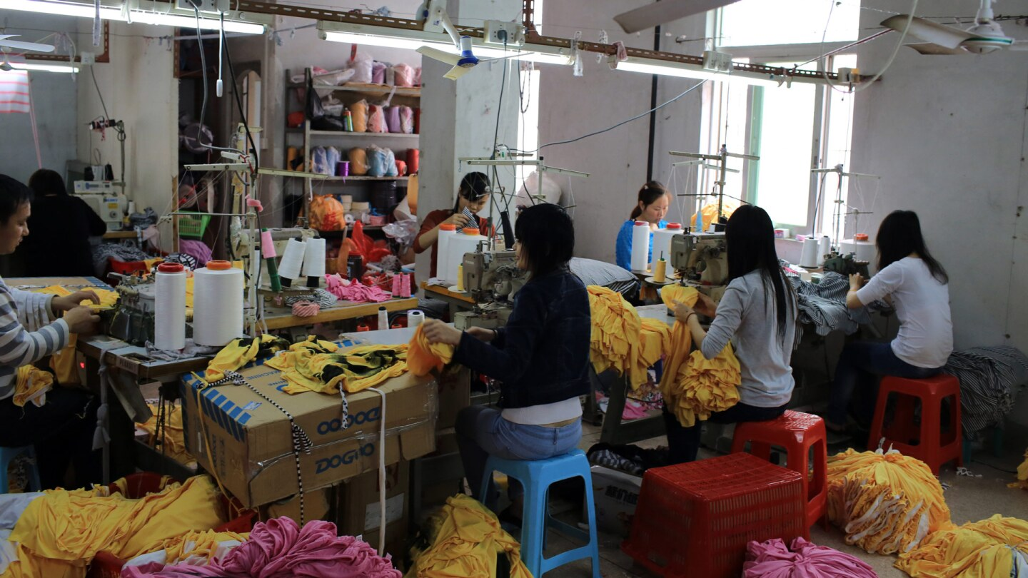 China Manufacturing trend to move from coastal to inland area because the cost is growth