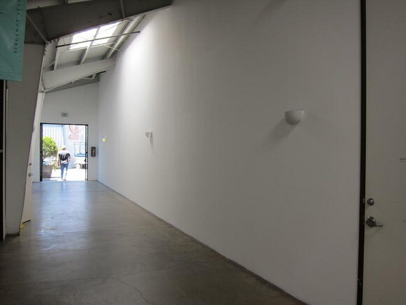 The <em>Wall Works</em> public hallway in Bergamot Station. | Photo: Courtesy Santa Monica Museum of Art.