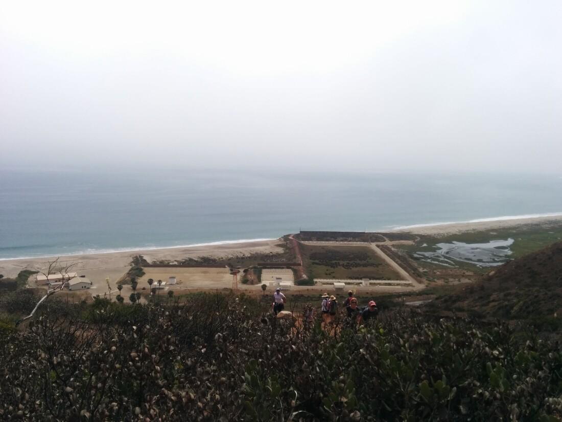 View from Chumash Trail of a shooting range at Naval Air Station Point Mugu | Jena Lee
