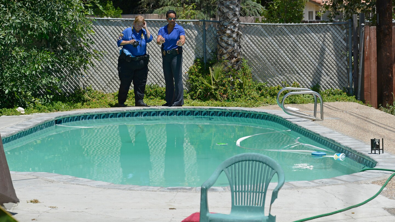 Rodney King - Swimming Pool