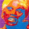 """Aubrey Longley-Cook's """"RuPaul Cross-Stitch Animation Frame 27""""   Courtesy of the artist Queer Threads"""
