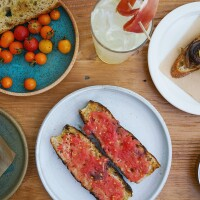 Otoño's Pan Con Tomate and other bites | Courtesy of Otoño