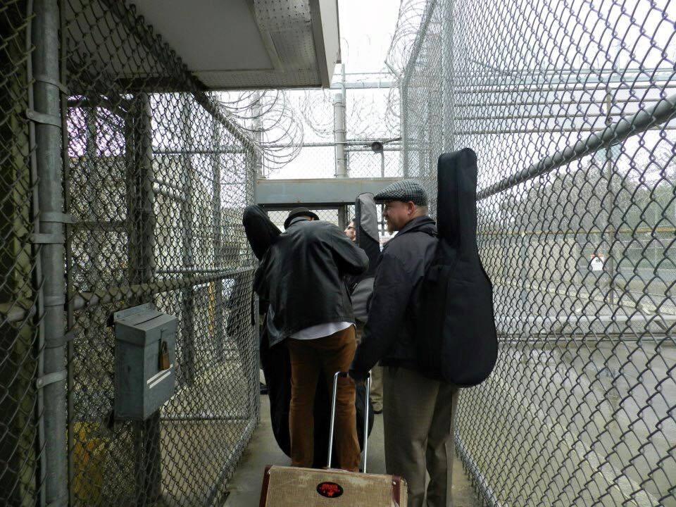 Jail Guitar Doors enters California Rehabilitation Center in Norco