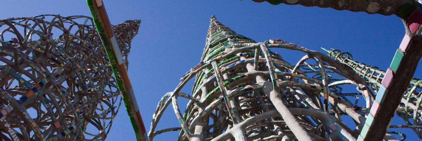 Watts Towers view from below | Carren Jao