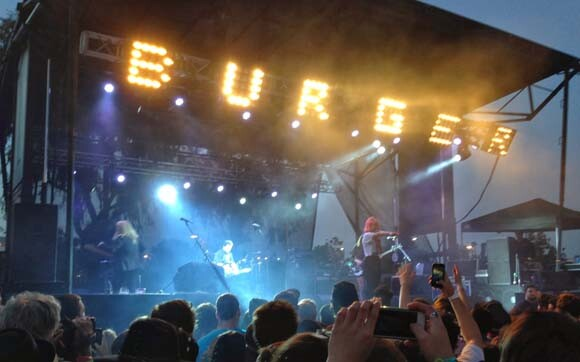 Burgerama 2014 | Photo courtesy of Burger Records.